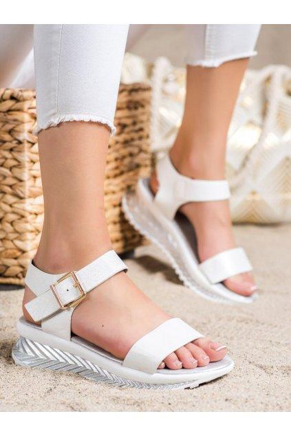 Biele sandále Groto gogo kod G250S