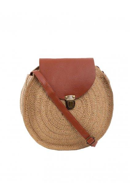 Plážová kabelka tmavo-béžová kód YP-TR-ax4282.45