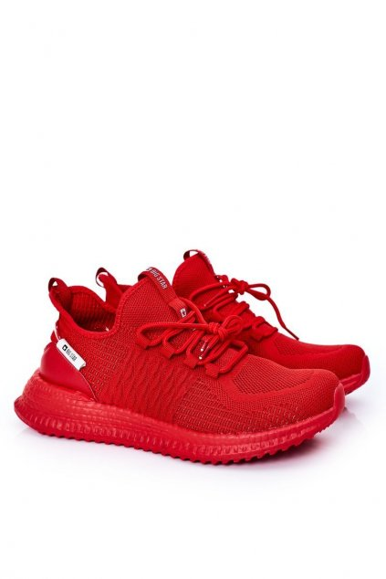 Červená obuv kód topánok HH174275 RED
