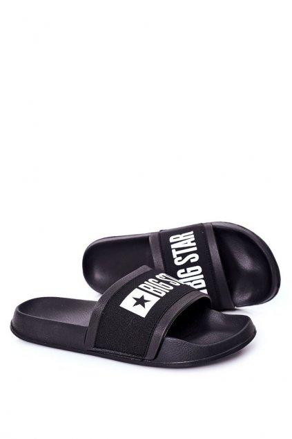 Pánske šľapky farba čierna kód obuvi HH174831 BLACK