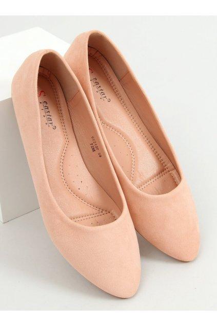 Dámske baleríny ružové NJSK CC212P