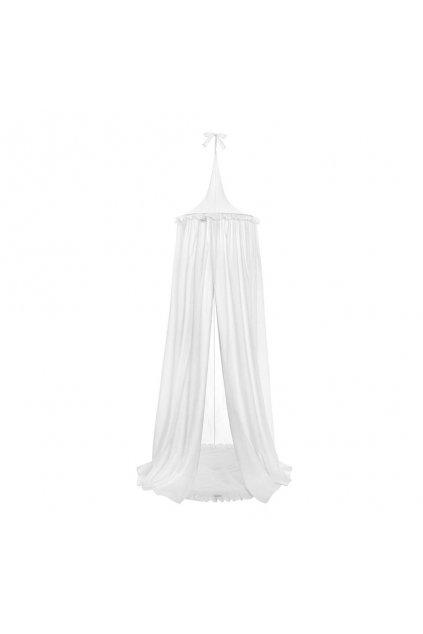 Závesný stropný luxusný baldachýn + podložka Belisima biely (poškodený obal)