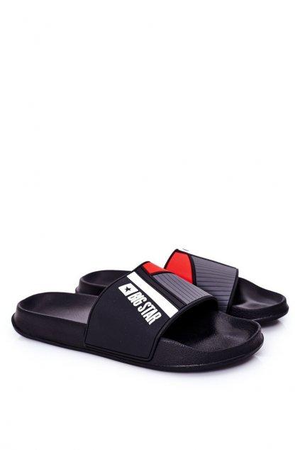 Pánske šľapky farba čierna kód obuvi HH174836 BLACK