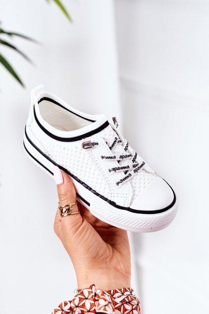 Detské tenisky farba biela kód obuvi XC238 XC239 XC240 WHITE