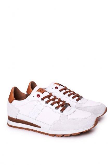 Biela obuv NJSK HH1N4054 WHITE