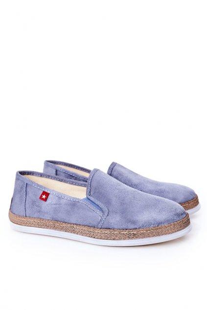 Pánske poltopánky farba modrá kód obuvi HH176004 BLUE