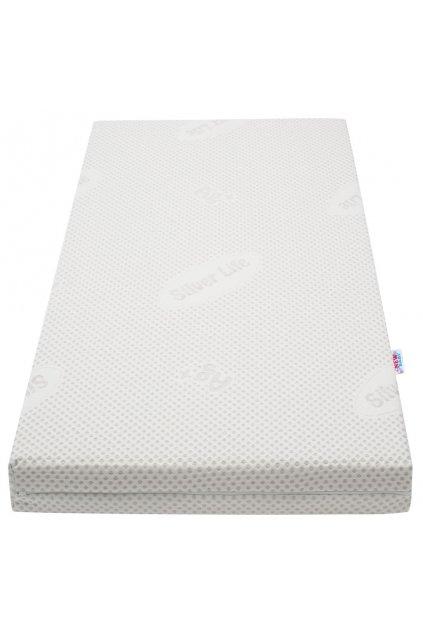 Detský obojstranný matrac New Baby COLORADO Silver 120x60x10