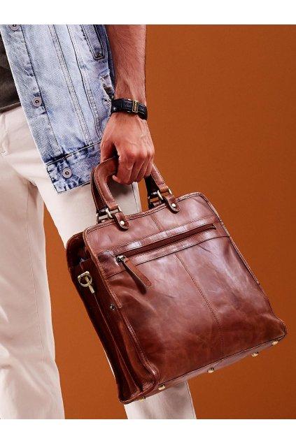 Pánska kabelka hnedá kód CE-TR-CP-151-CBH.09