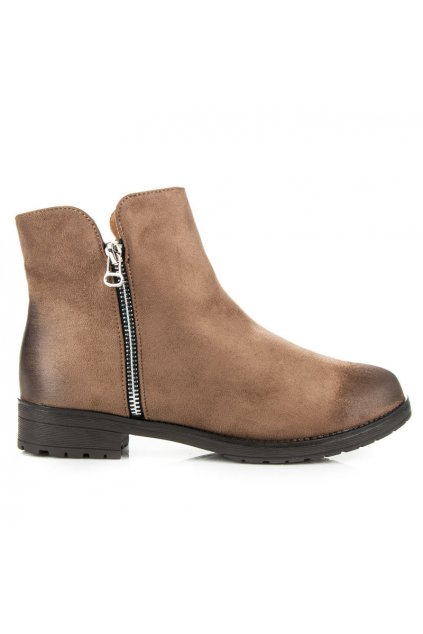 Hnedé topánky Berta W129KH