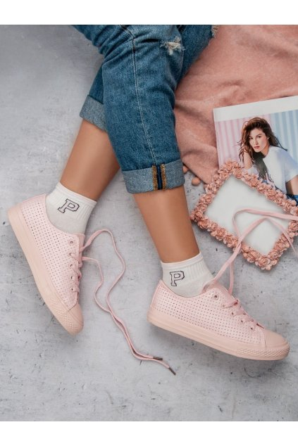 Ružové tenisky NJSK K1830700RO