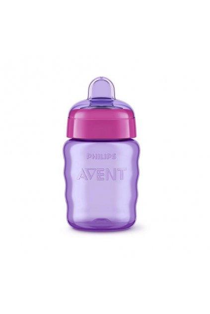 Kúzelný hrnček Avent 260 ml fialový
