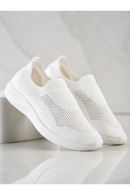 Biele tenisky NJSK 9861W