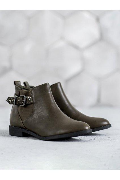 Zelené topánky NJSK HD-67GR