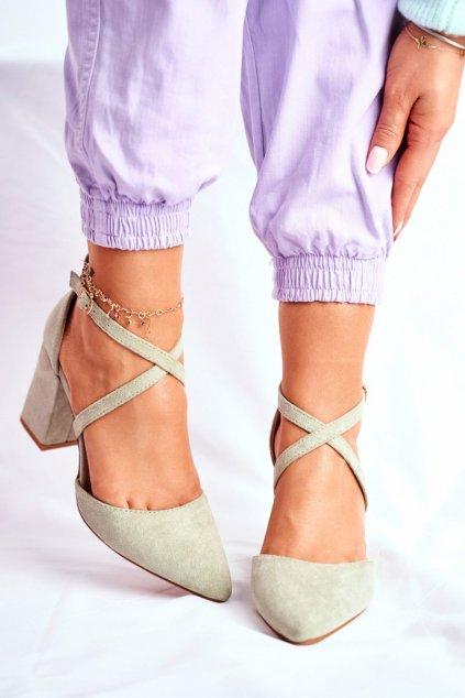 Zelené sandále NJSK NC900