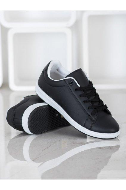 Čierne tenisky NJSK BX1825B
