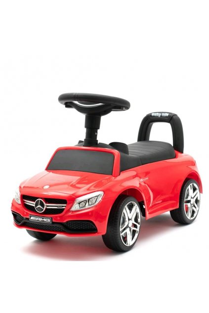 Detské odrážadlo Mercedes Benz AMG C63 Coupe Baby Mix červené