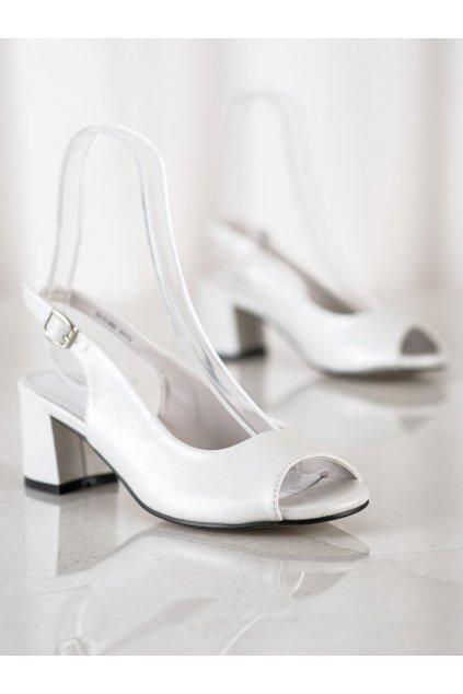 Biele sandále Goodin NJSK GD-FL1062W