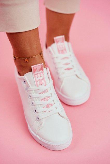 Ružové tenisky NJSK LA70 PINK