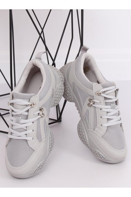 Sivé tenisky NJSK BD-5
