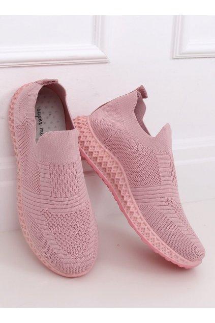 Dámske ružové tenisky NJSK 4388