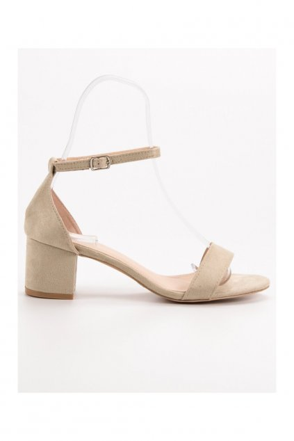 1070715 4 hnede damske sandale na stlpiku renda h765be