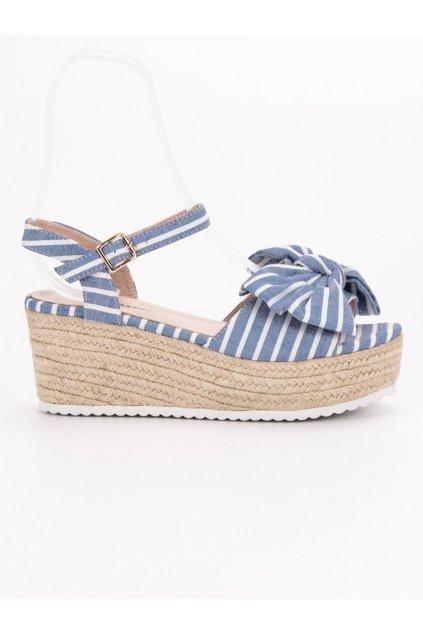 Modré sandále GG-69LT.BL
