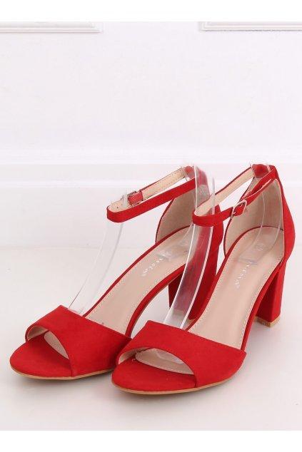 Červené sandále NJSK 88-395