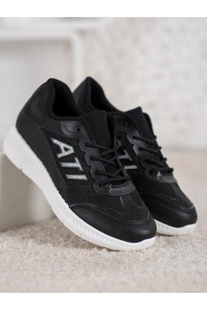 Čierne topánky NJSK C050NE