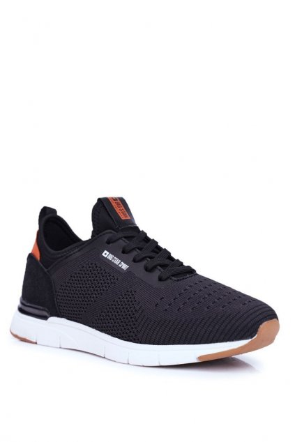 Čierne topánky NJSK FF174163 BLK