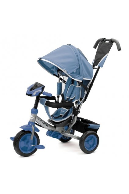 Detská trojkolka so svetlami Baby Mix Lux Trike modrá
