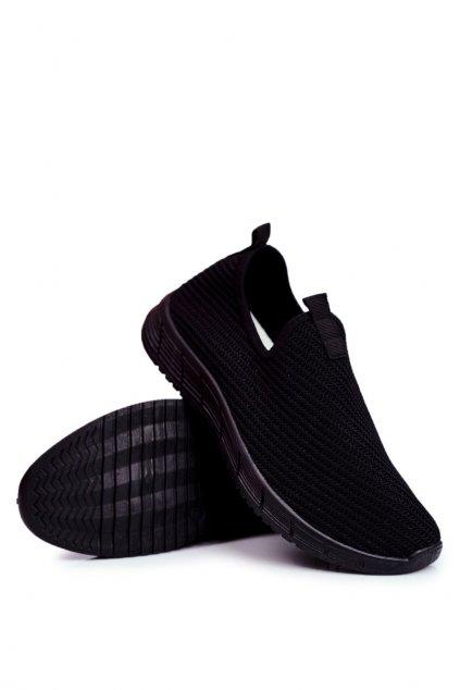 Čierne topánky NJSK FZ19P BLK