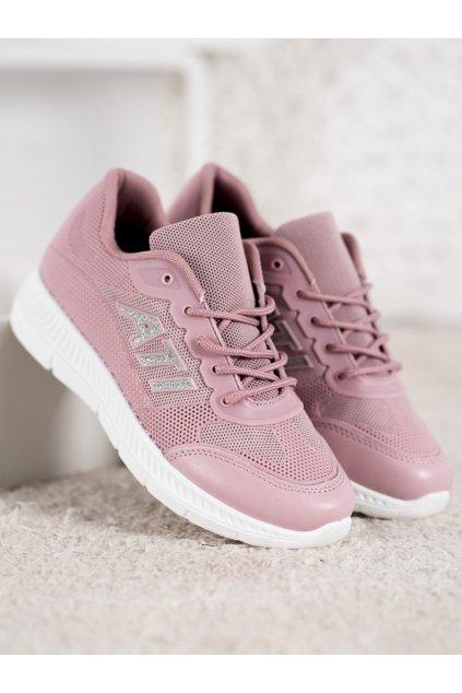 Ružové tenisky NJSK C050ROSA