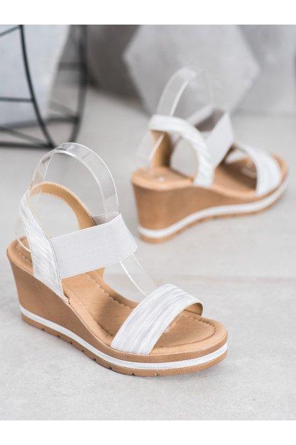 Sivé sandále NJSK 6436S