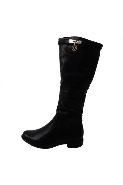 Čižmy VICES čierna T12764-1 (Veľkosť UK8 / EUR 41)