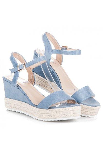 Modré sandále NJSK R120BL
