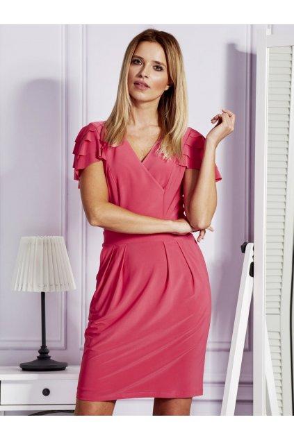 Ružové šaty NJSK NU-SK-166.92
