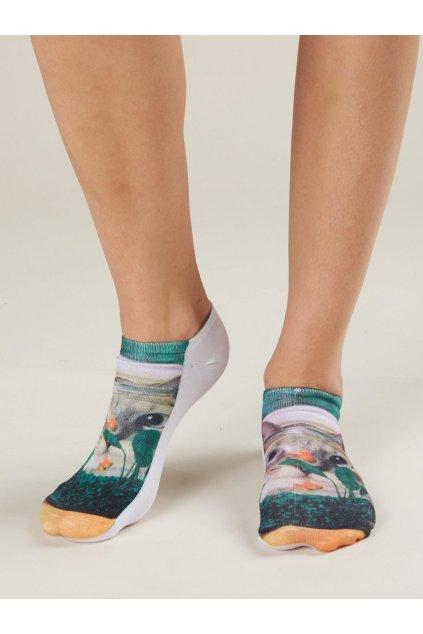 Dámske ponožky kód 7-SR-PWF-01592-4
