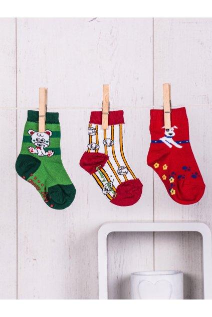 Detské ponožky kód TD-SR-008(3szt) 3ks