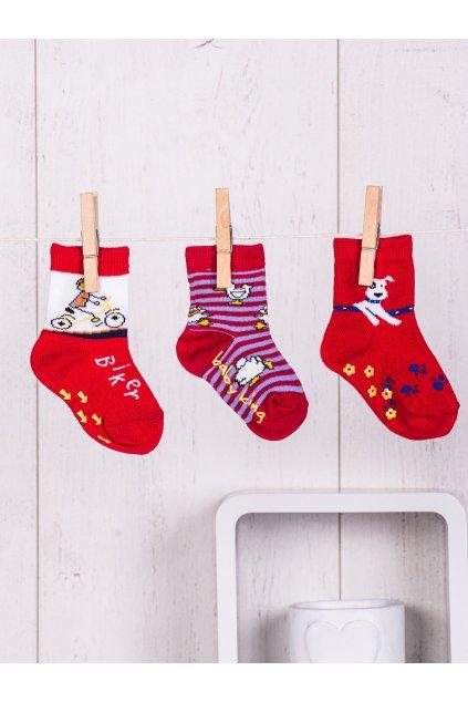 Detské ponožky kód TD-SR-009(3szt) 3ks