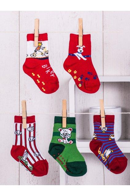 Detské ponožky kód TD-SR-010(5szt) 5ks
