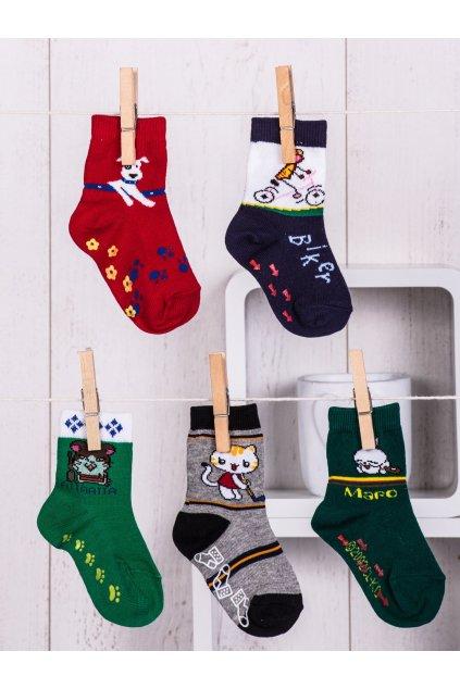 Detské ponožky kód TD-SR-011(5szt) 5ks