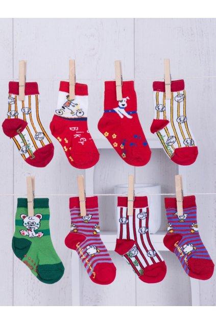 Detské ponožky kód TD-SR-012(8szt) 8ks
