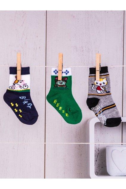 Detské ponožky kód TD-SR-013(3szt) 3ks