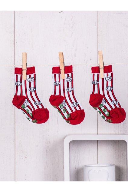 Detské ponožky kód TD-SR-016(3szt) 3ks