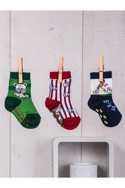Detské ponožky kód TD-SR-017(3szt) 3ks