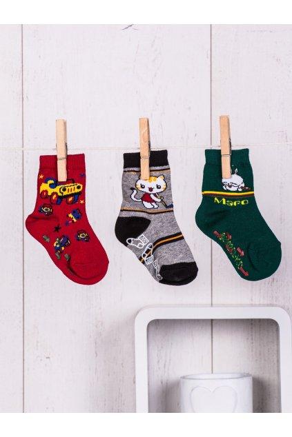 Detské ponožky kód TD-SR-018(3szt) 3ks