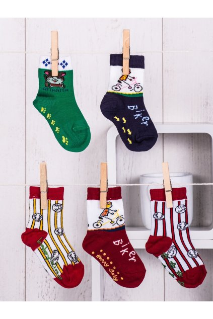 Detské ponožky kód TD-SR-020(5szt) 5ks