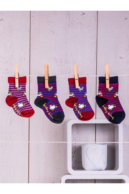 Detské ponožky kód TD-SR-023(4szt) 3ks