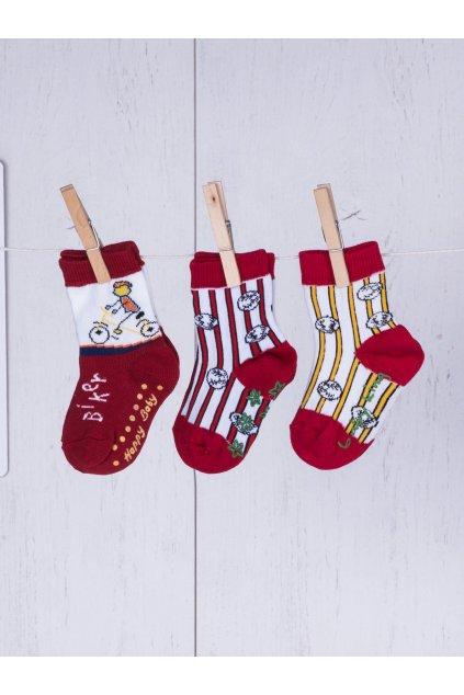 Detské ponožky kód TD-SR-024(3szt) 3ks