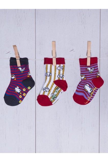 Detské ponožky kód TD-SR-025(3szt) 3ks